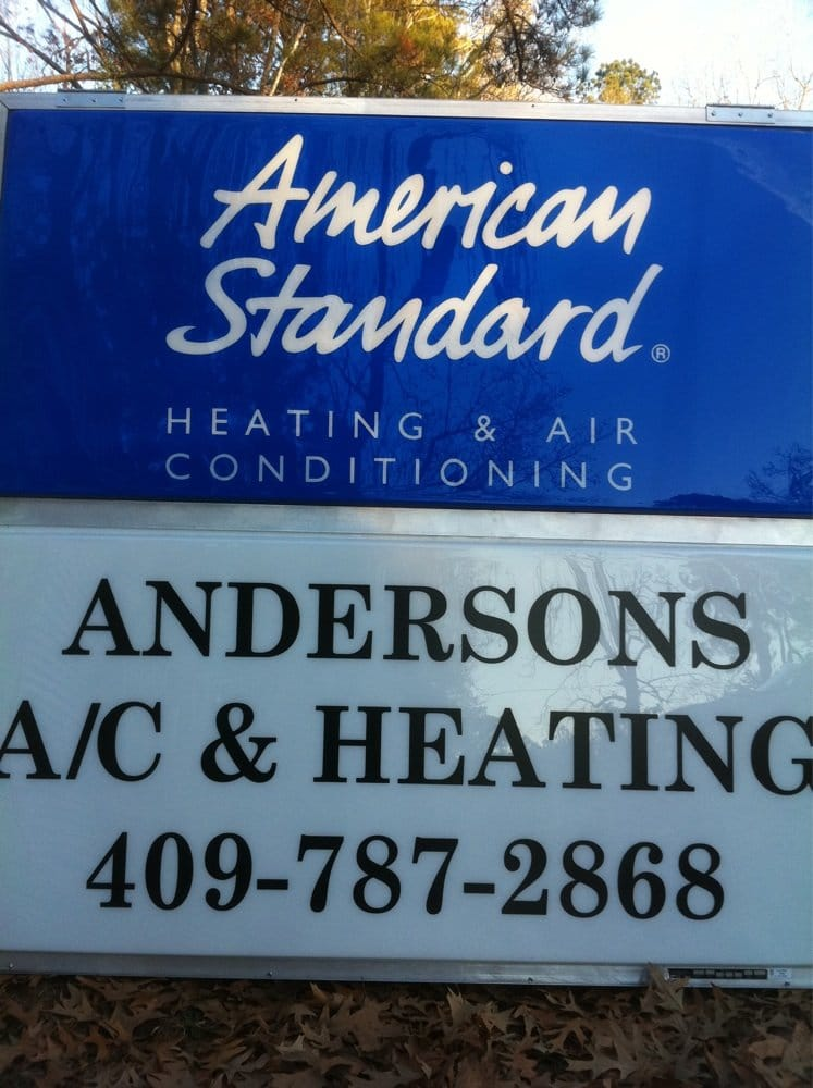 Anderson's A/C & Heating: 1575 Worth St, Hemphill, TX