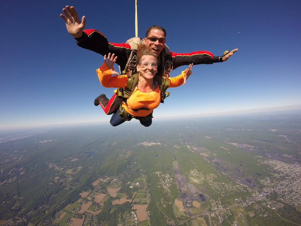 Social Spots from Above the Pocono Skydivers