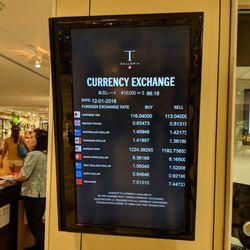 Photo Of Dfs Galleria Money Exchange Window Honolulu Hi United States Rates