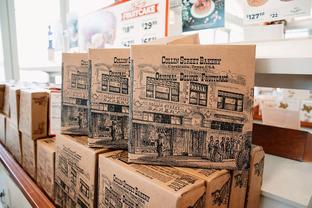 Collin Street Bakery: 2035 Interstate 45, Corsicana, TX