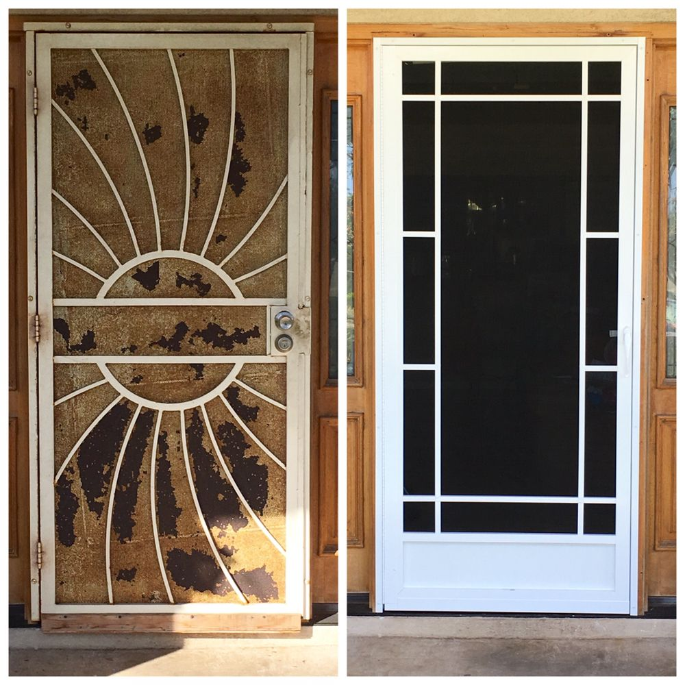 Photo Of Aloha Screen Doors   Wailuku, HI, United States. Before/After