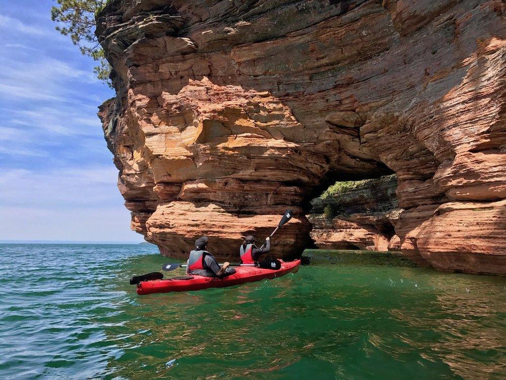 Apostle Islands Kayak Tours: Mason, WI