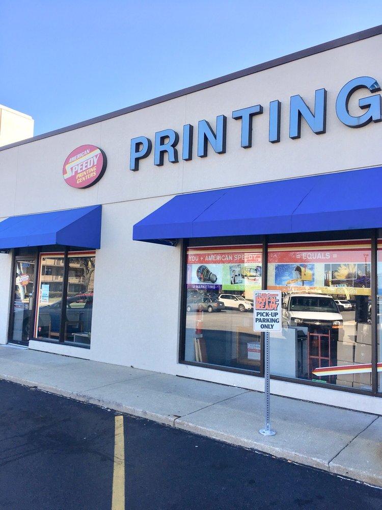 American Speedy Printing Center: 4830 N Harlem Ave, Harwood Heights, IL