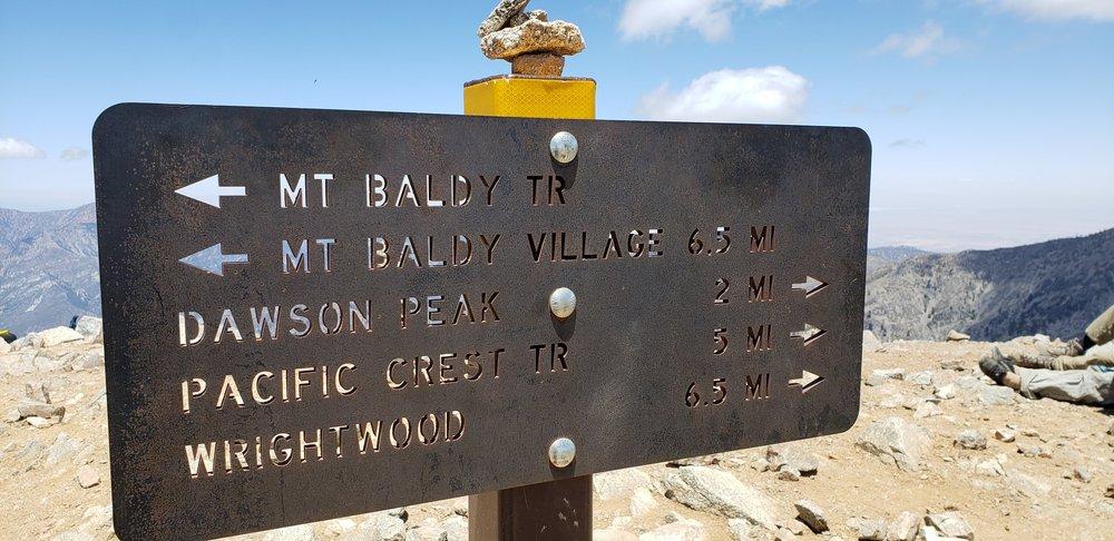 Baldy Bowl Trail