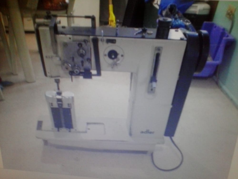Adler Double Needle Industrial Sewing Machine Adler Double Needle 40 Classy Miami Industrial Sewing Machines