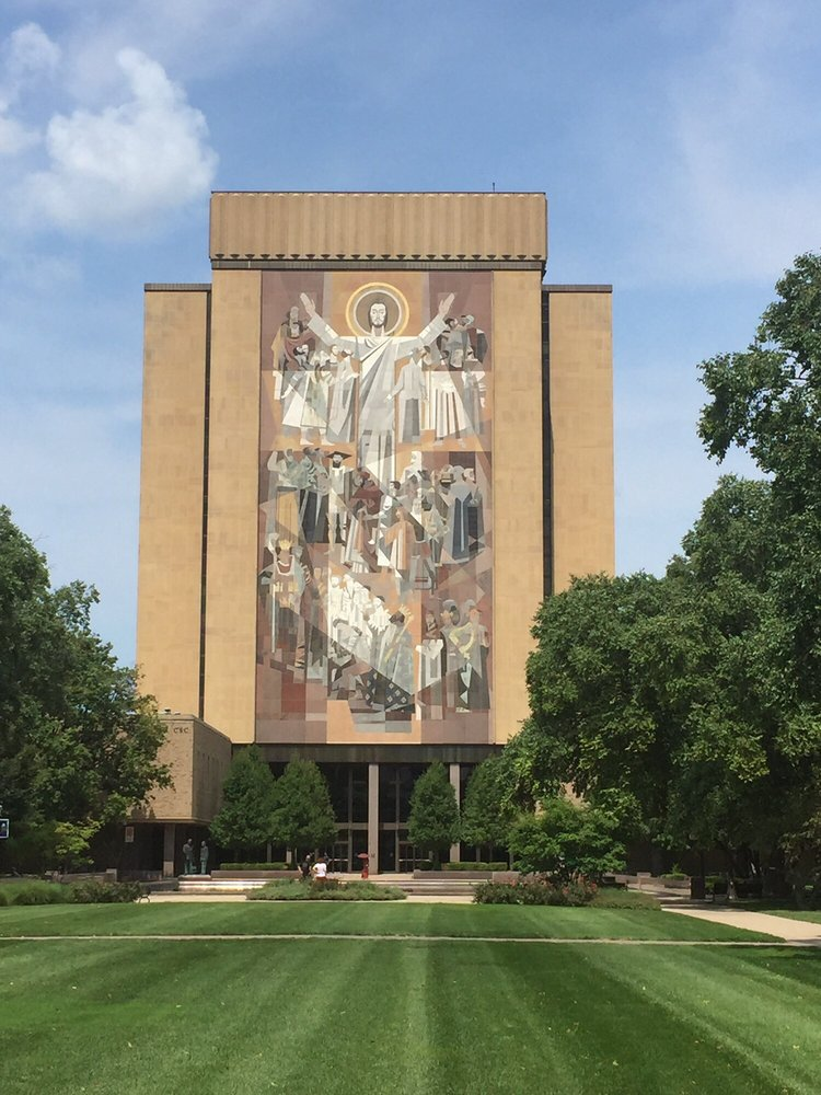 Theodore M Hesburgh Library: 221 Hesburgh Library, Notre Dame, IN