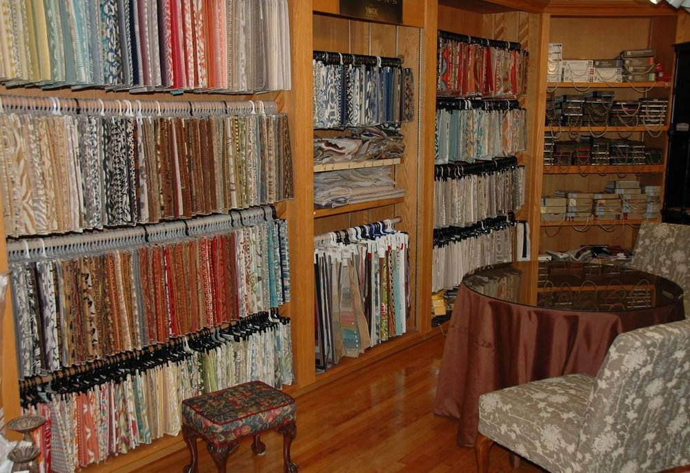 Carolina Fabric and Interiors: 1190 N Pleasantburg Dr, Greenville, SC