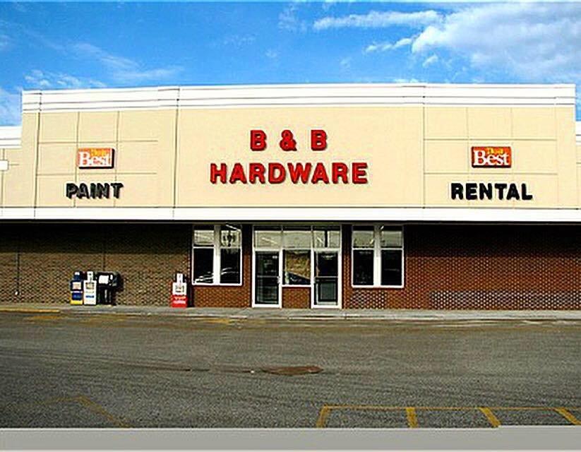 B & B Hardware & Rental: 908 4th St W, Milan, IL