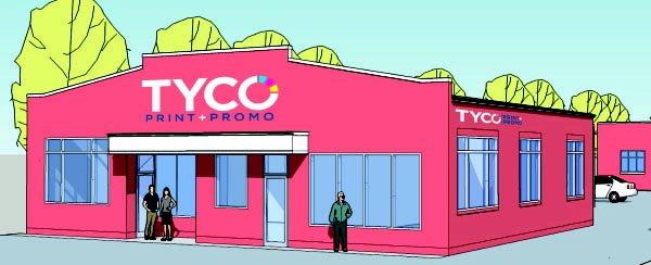TYCO Print: 618 Main St, Branford, CT