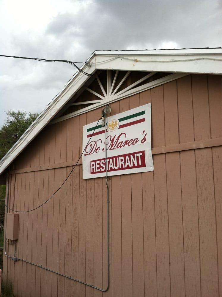 Demarcos Pizzeria: 1885 W American Ave, Oracle, AZ
