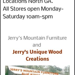 Charmant Photo Of Jerryu0027s Mountain Furniture   Blue Ridge, GA, United States