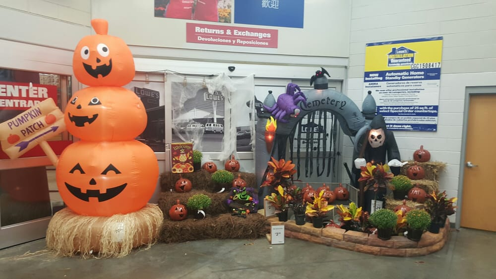 your fall home and halloween decorations are in and on