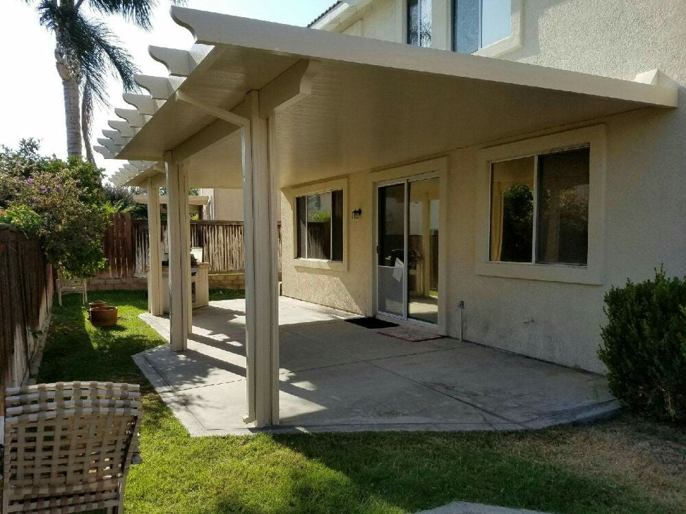 Here S A 12x14 Amp 14x16 6 Solid Top Patio Cover In Rancho