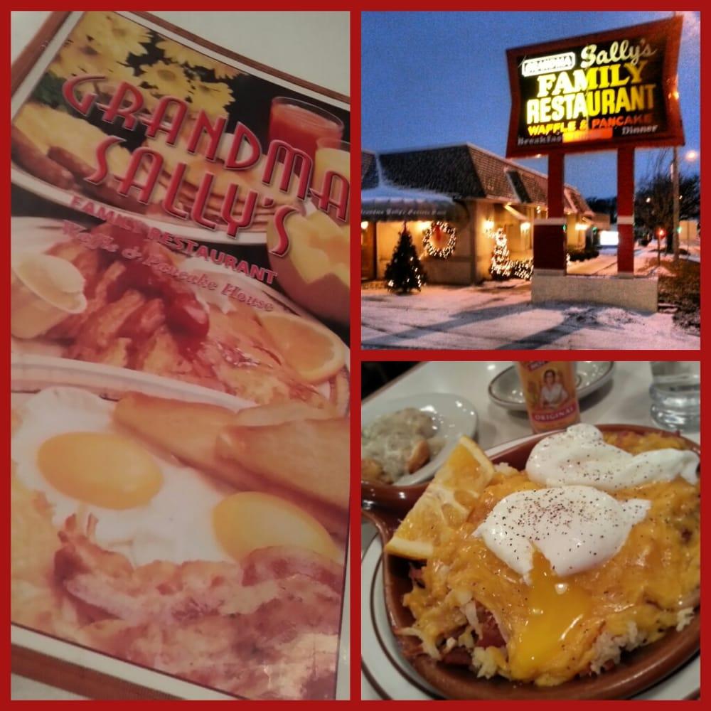 grandma sallys waffle & pancake house - closed - 40 photos & 55