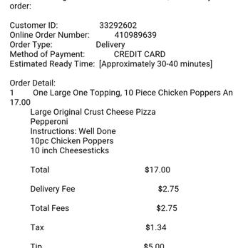 Papa John's Pizza - Pizza - 1015 E Cone Blvd, Greensboro, NC ...