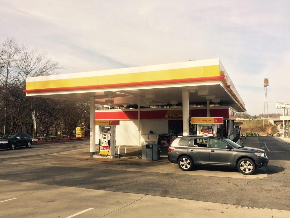 Shell: 2302 S Sterling St, Morganton, NC