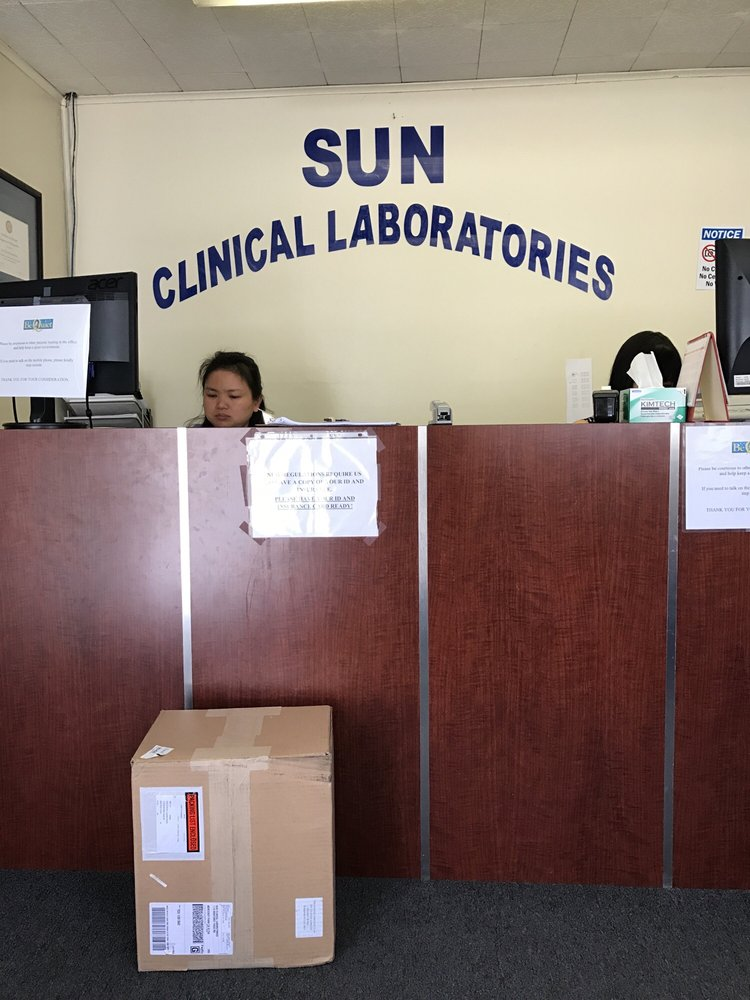 Sun Clinical Laboratories: 9349 Telstar Ave, El Monte, CA