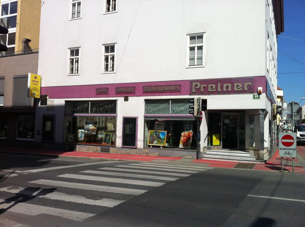 Preiner - Angebot erhalten - Bilderrahmen - Klosterwiesgasse 18 ...