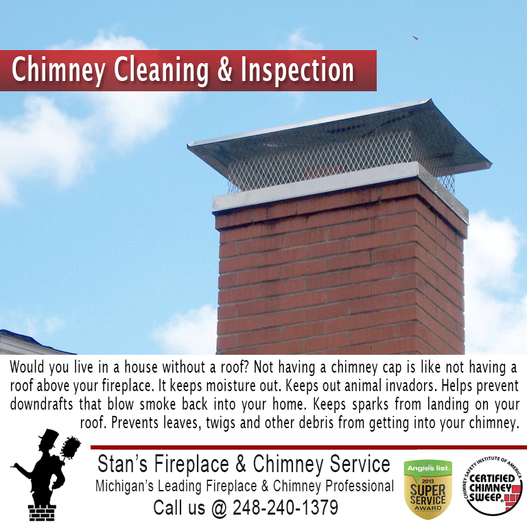 Stan's Fireplace & Chimney Service: Fenton, MI