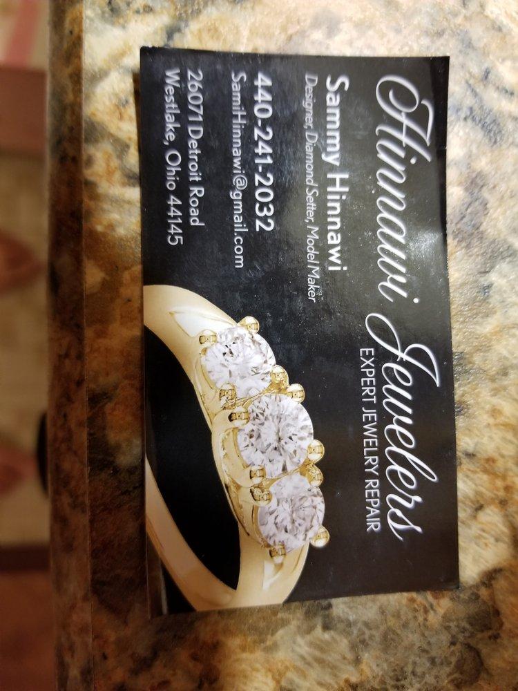 Hinnawi Jewelry Repair: 26071 Detroit Rd, Westlake, OH