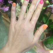 Touch Of Neon Photo Rainbow Nails South Miami Fl United States