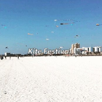 Photo Of Treasure Island Beach Fl United States Kite Festival
