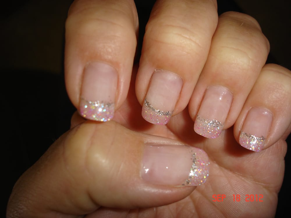 Gel Nails done by Kim - I liked the natural with a fade to a light ...