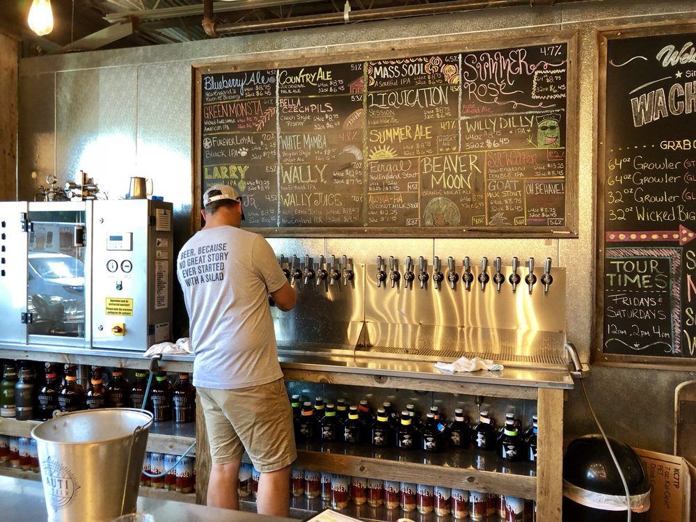 Wachusett Brewing Co 73 Photos 56 Reviews Breweries 175 State Rd E Westminster Ma Phone Number Last Updated December 16 2018 Yelp