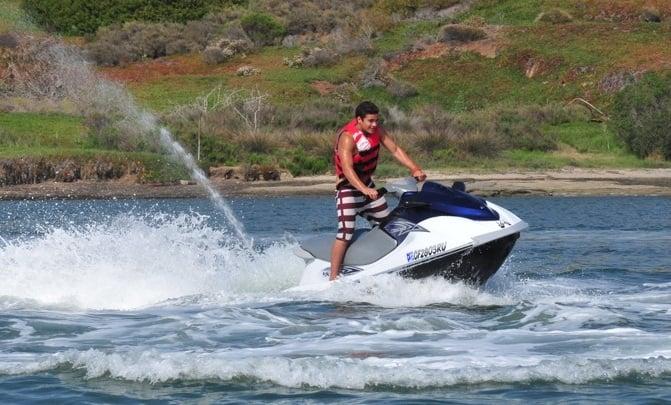 Jet Ski Rentals: Del Mar Beach Resort, Oceanside, CA
