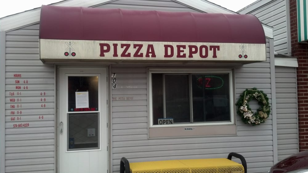 Pizza Depot: 104 N Jefferson St, Millersburg, IN