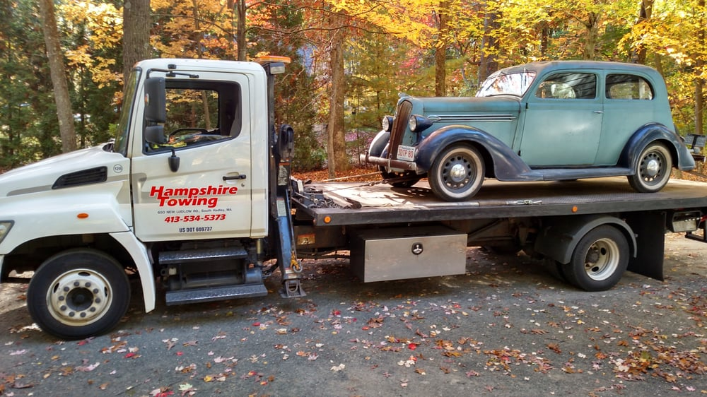 Towing business in Holyoke, MA