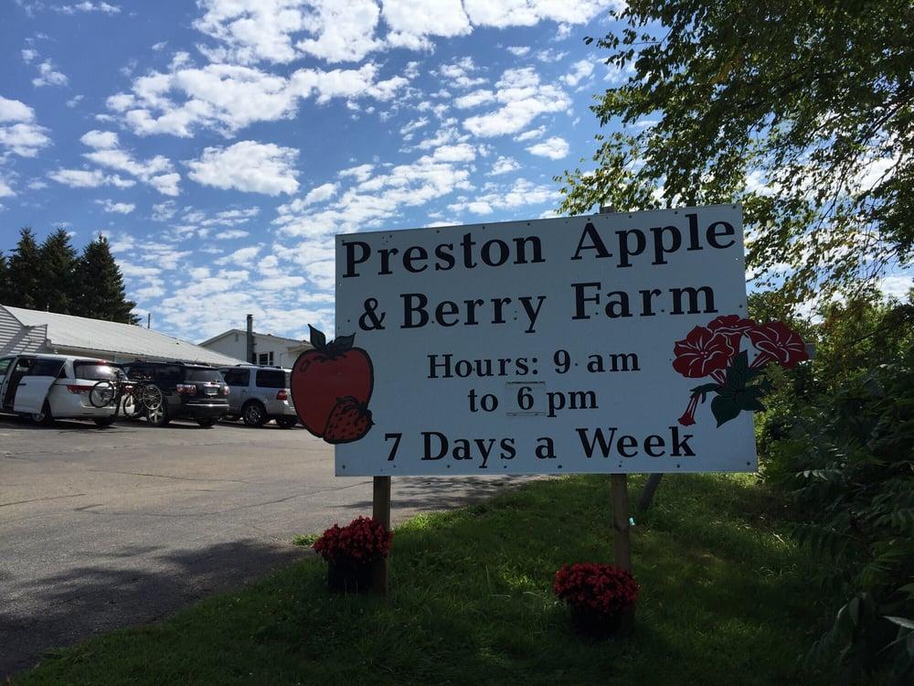 Preston Apple & Berry Farm: 645 Highway 52 E, Preston, MN