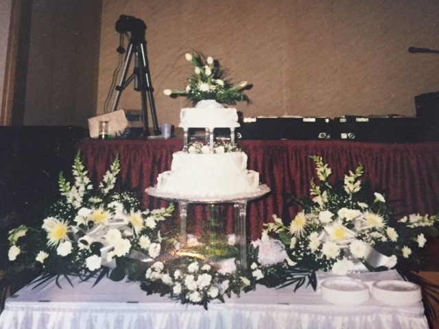 Wedding Cake Made With Our Signature Fresh Cream Yelp