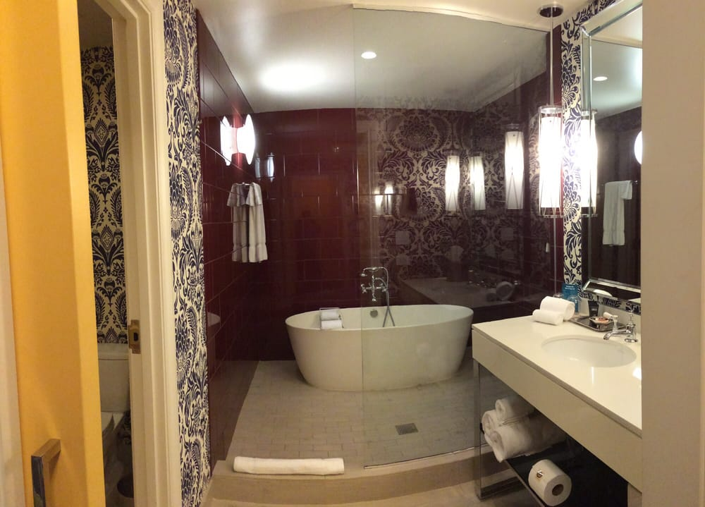 King Spa bath/shower area - Yelp