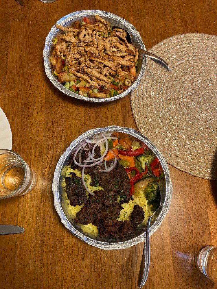 Food from Jerusalem Cafe
