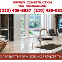 Construction And Remodeling Companies araiza construction and remodeling contractors san home remodeling