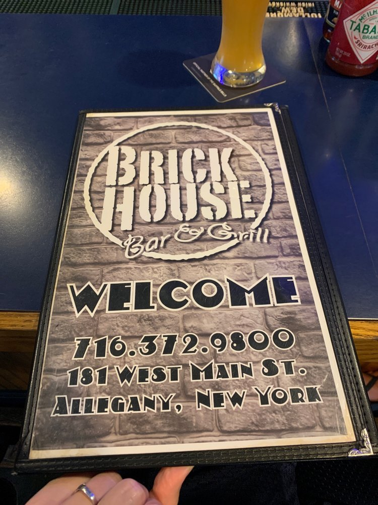 Brick House Bar and Grill: 181 W Main St, Allegany, NY