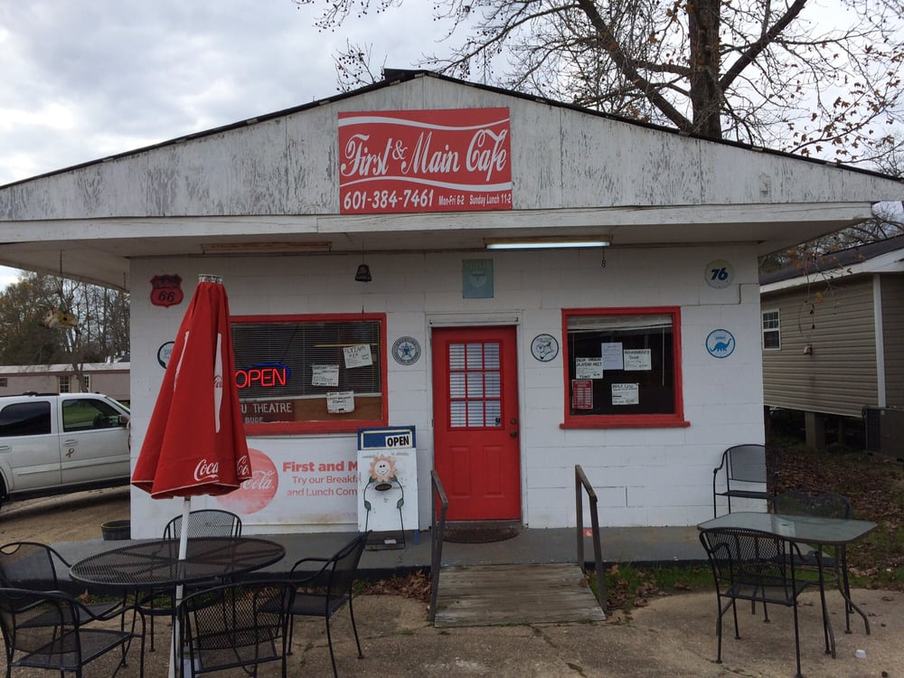 First & Main Cafe: 141 Main St, Bude, MS