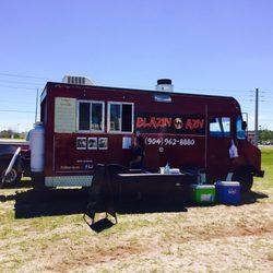Blazin Azn Food Truck Jacksonville Fl