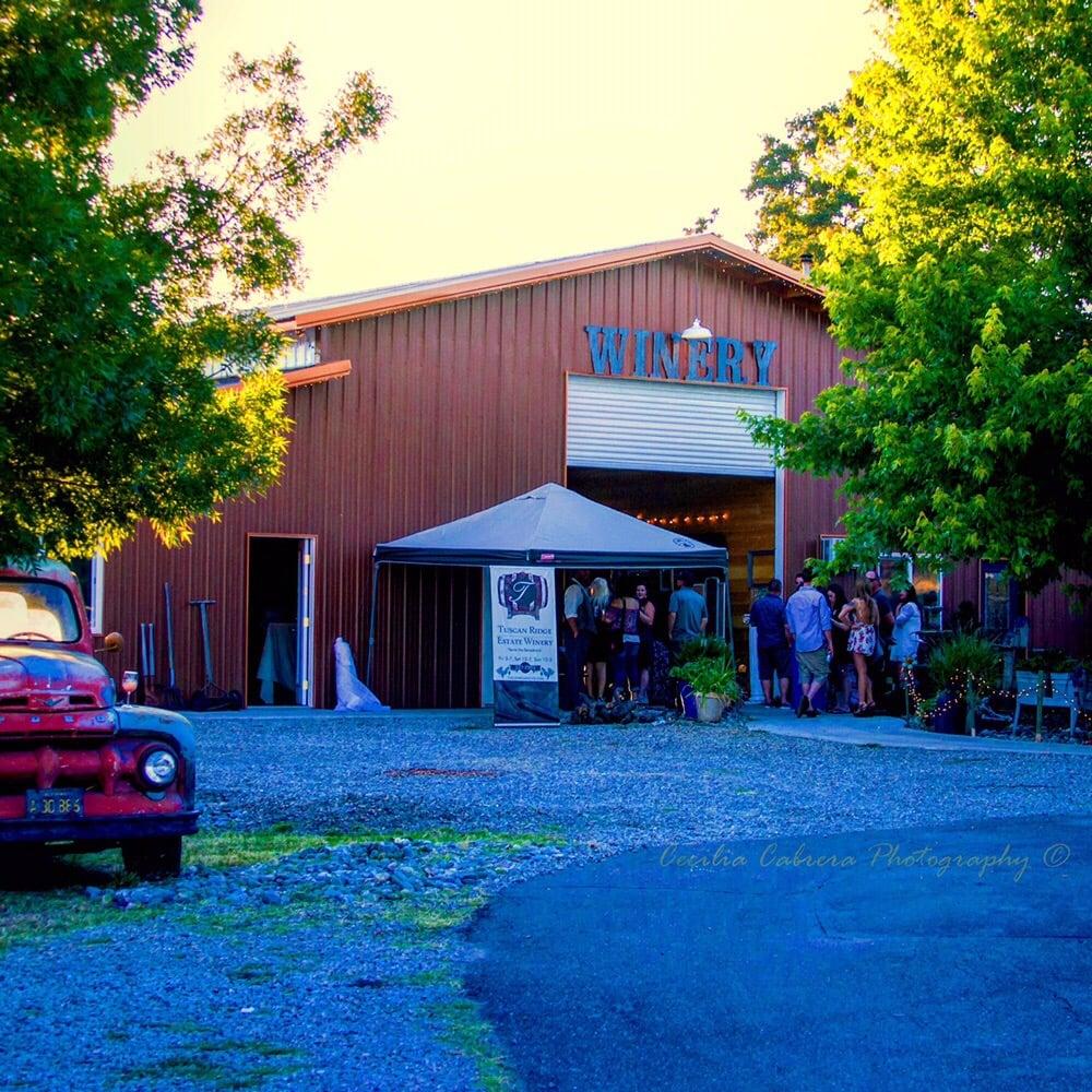 Tuscan Ridge Estate Winery: 19260 Ridge Rd, Red Bluff, CA
