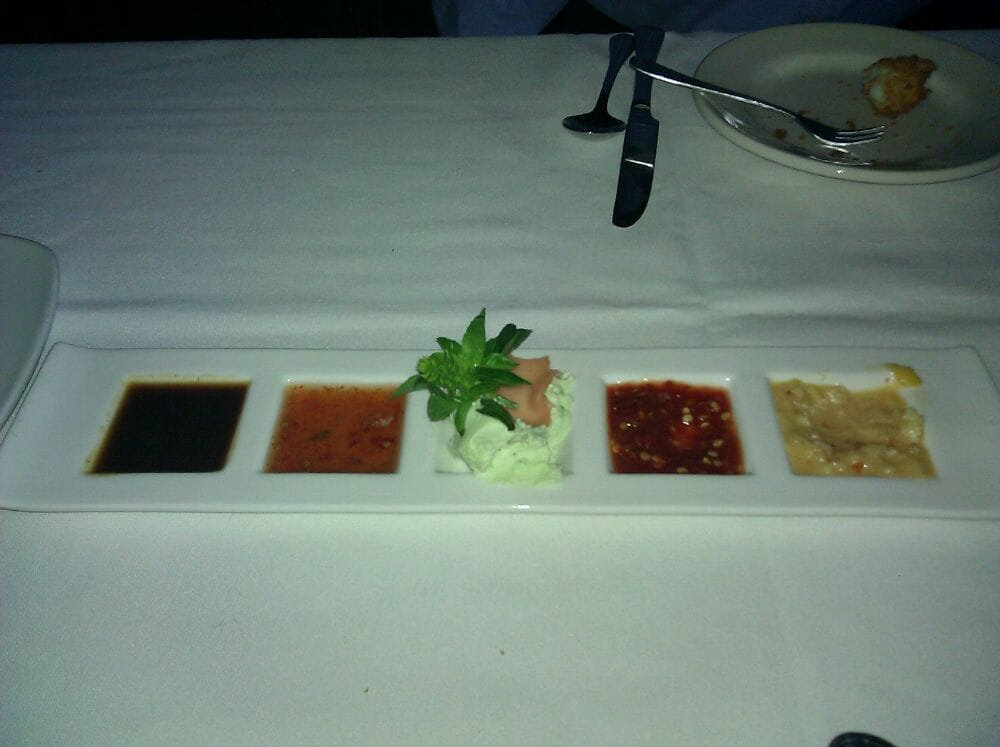5 dipping sauces served with calamari yelp for Milfords fish house