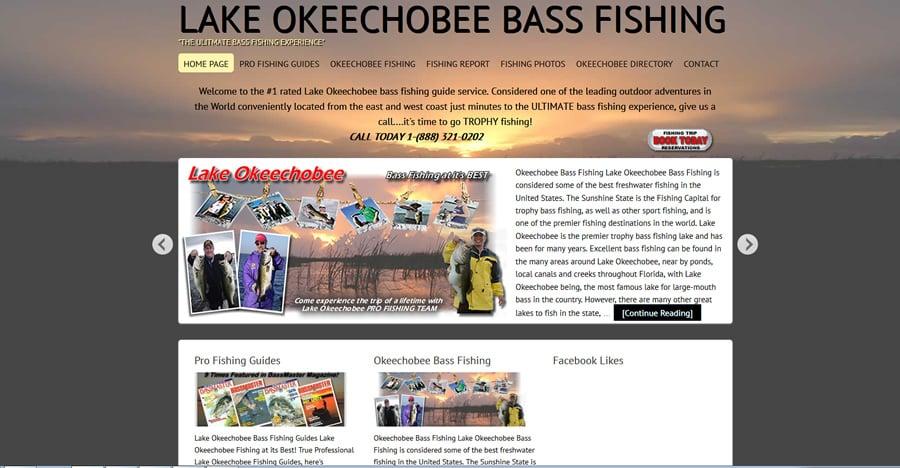 Lake Okeechobee Bass Fishing: 1220 Hunter Dr, Okeechobee, FL