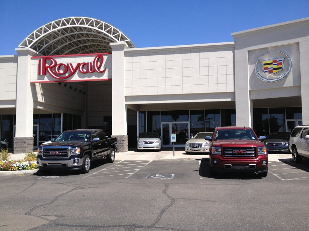 Gmc Dealers In Az >> Royal Buick GMC Cadillac - 32 Reviews - Car Dealers - 815 W Auto Mall Dr, Tucson, AZ, United ...
