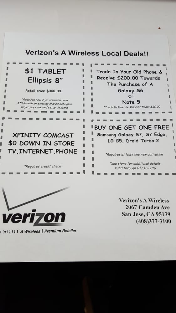 Wireless Store Inc Reviews Mobile Phones Camden Ave - Business invoices free verizon online store
