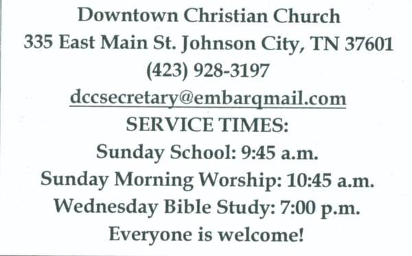 Christian singles in johnson city tn