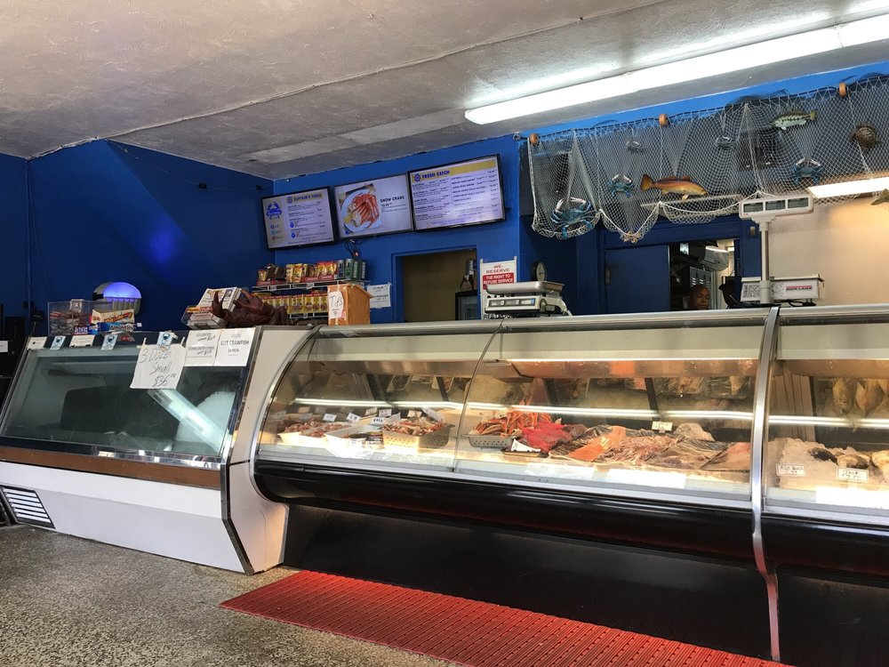 Dry clean nice selection yelp for Fish market tampa