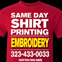 d4d78b801 Photo of The Best Screen Printing & Embroidery - Los Angeles, CA, United  States. Same Day Shirt Printing