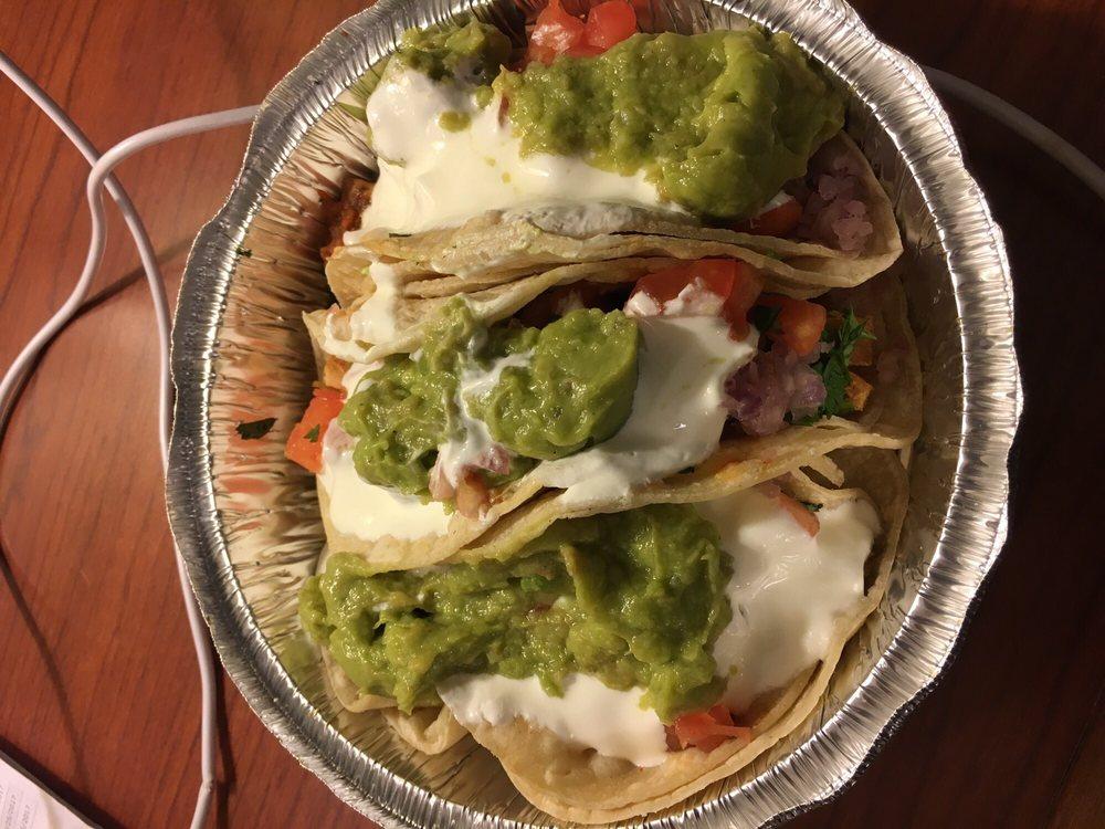 Food from Bueno Burrito