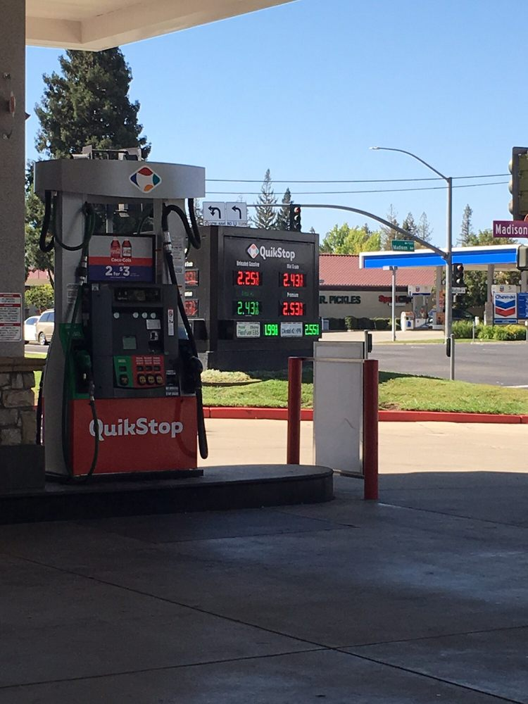 Diesel Gas Stations Near Me >> Quik Stop - Gas Stations - 7901 Madison Ave, Citrus ...