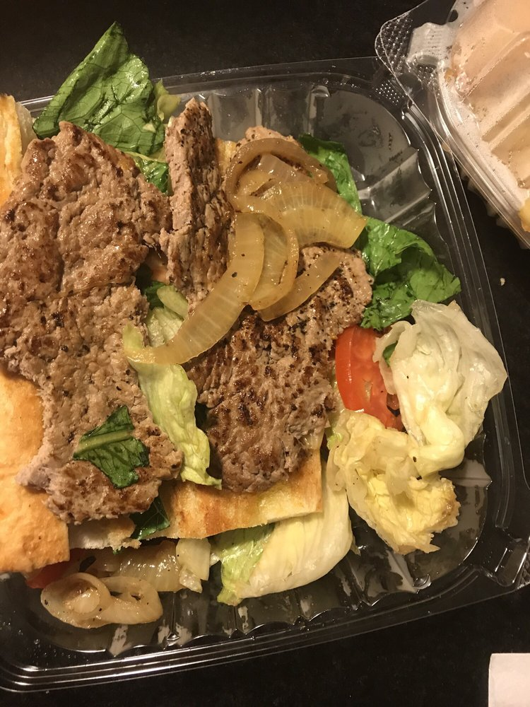 Food from Mickey's Gyros & Ribs